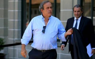 Soccer: Former UEFA chief Platini lashes out at Blatter