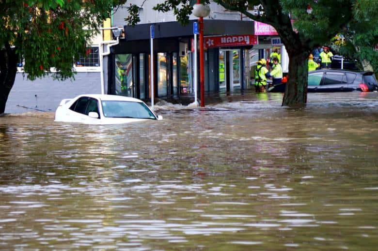 Storm causes floods, blackouts in New Zealand's biggest city