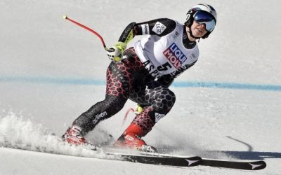 Weirather and Jansrud celebrate Super-G titles