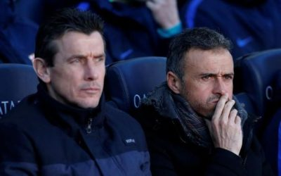 Barca assistant Unzue receives players' backing for top job