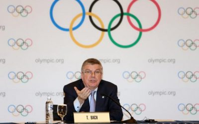Bach delivers warning to 2020 golf venue