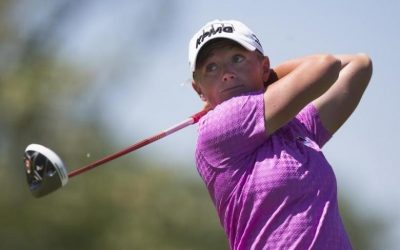 Lewis, 4 others share early Founders Cup lead