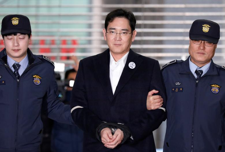 South Korea court reassigns Samsung chief's case amid questions about judge's connections