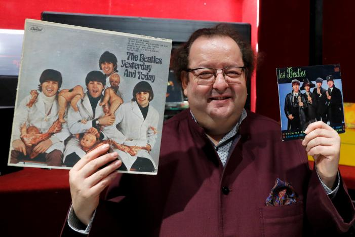 Vast Beatles collection goes on auction in Paris