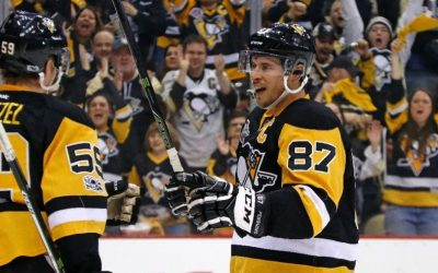 NHL Highlights: Crosby hat trick leads Pens to win