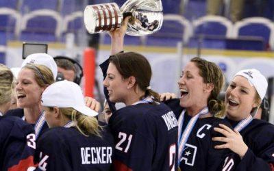 Ice hockey: U.S. women's team hold productive talks in wage fight