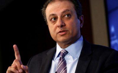 Ex-U.S. Attorney Bharara, fired by Trump, joins NYU law school