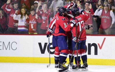 NHL Highlights: Caps snap skid, knock Wild from West perch