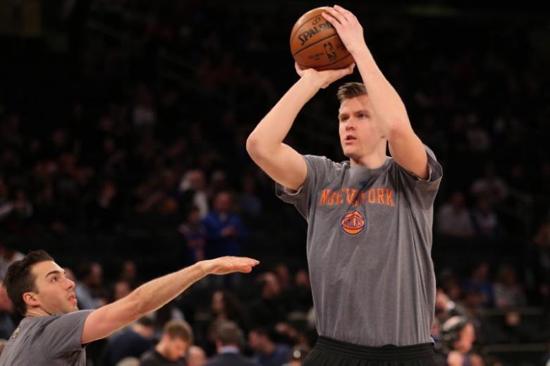 Latvian Porzingis is Knicks' best hope of bright future