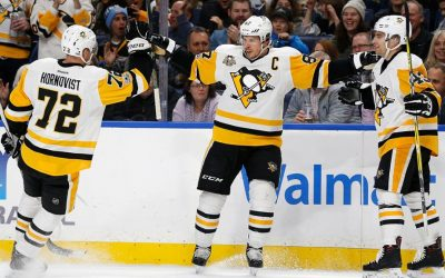NHL Highlights: Pens clinch playoffs with win