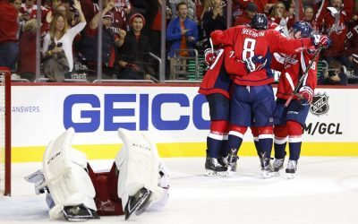 NHL Highlights: Caps hang on to Eastern lead