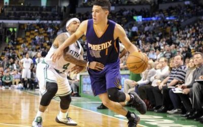 Suns guard Booker scores 70 points to join elite club