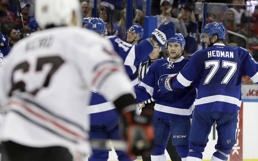 NHL Highlights: Lightning rally past Blackhawks in OT