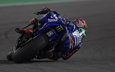 Vinales wins delayed and shortened MotoGP opener