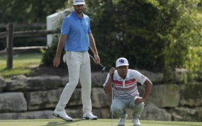 Johnson holds off Tanihara to make Match Play final