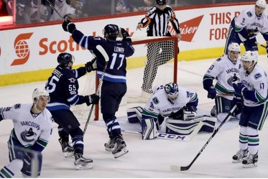 NHL Highlights: Jets stay alive with slim win