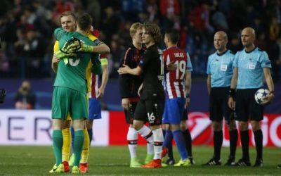 Atletico march into Champions League quarters as Oblak shines