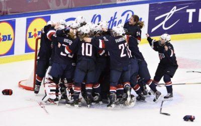 U.S. women's ice hockey team threaten to boycott world champs over wages