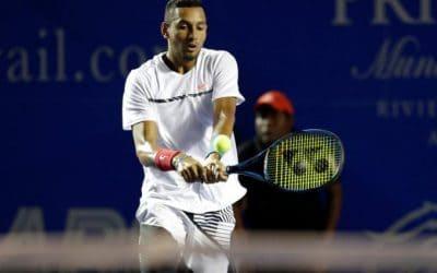 Ace high Kyrgios stuns Djokovic in Acapulco