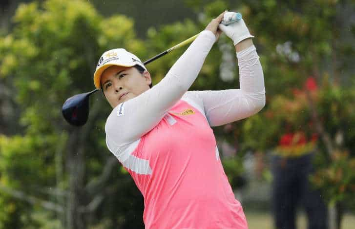 Park recovers from muddy mishap to edge ahead in Singapore