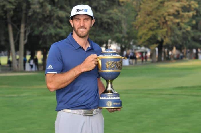 Johnson wins in Mexico to cement world number one ranking