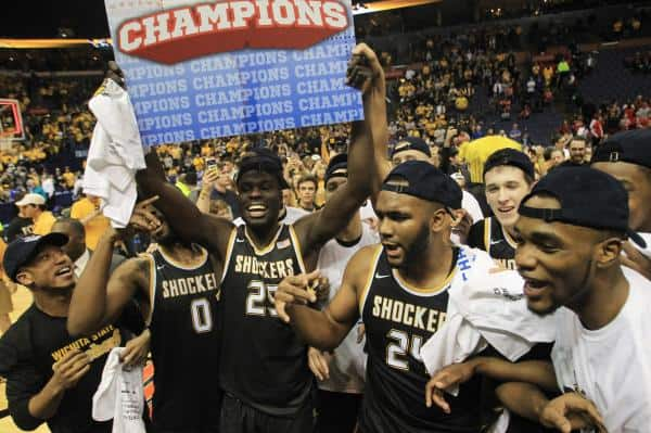 Top 25 roundup: Wichita State punches NCAA ticket