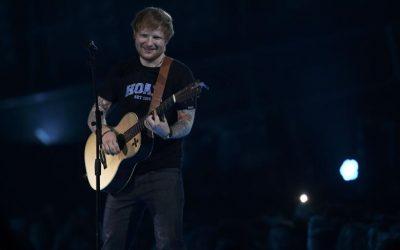 Ed Sheeran's 'Divide' tops U.S. Billboard charts for second week