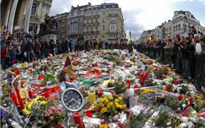 Year on from bombings, Brussels remains on alert