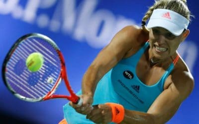 Kerber quickly takes opening match