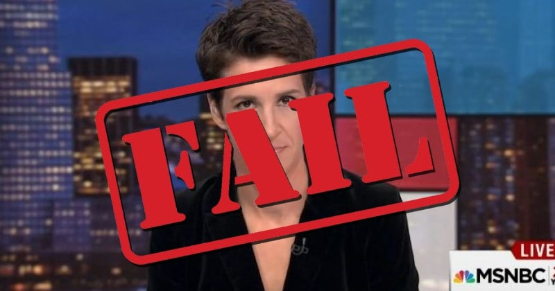 """Even Mainstream Media Forced to Admit Rachel Maddow Trump Tax 'Scoop' is a Big """"Nothingburger"""""""