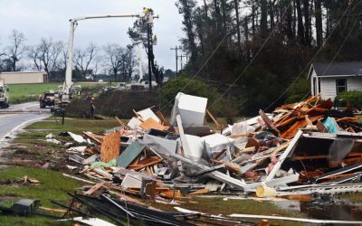Severe storm kills one as it sweeps northern Georgia