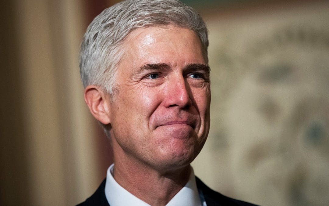 Judge Neil Gorsuch Promises Senators He Will Uphold the Constitution as Written