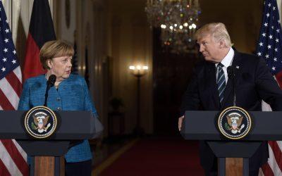 Trump Handed Merkel $375 Billion Invoice For NATO Defenses During Recent Visit