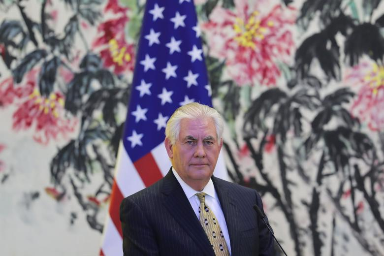 Tillerson signaled U.S. policy of patience on North Korea is over: White House