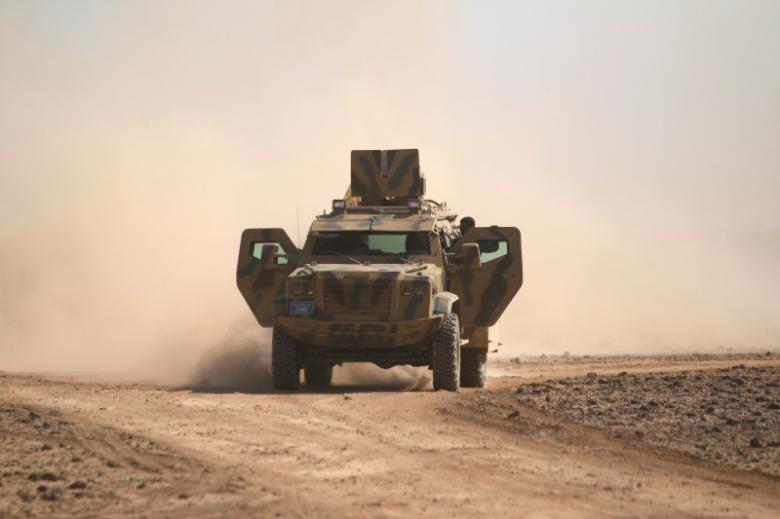 U.S.-backed Syrian militia makes gains against Islamic State
