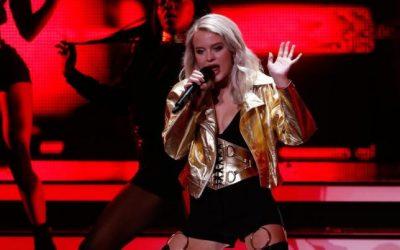 Swedish singer Zara Larsson seeks to build U.S. fan base