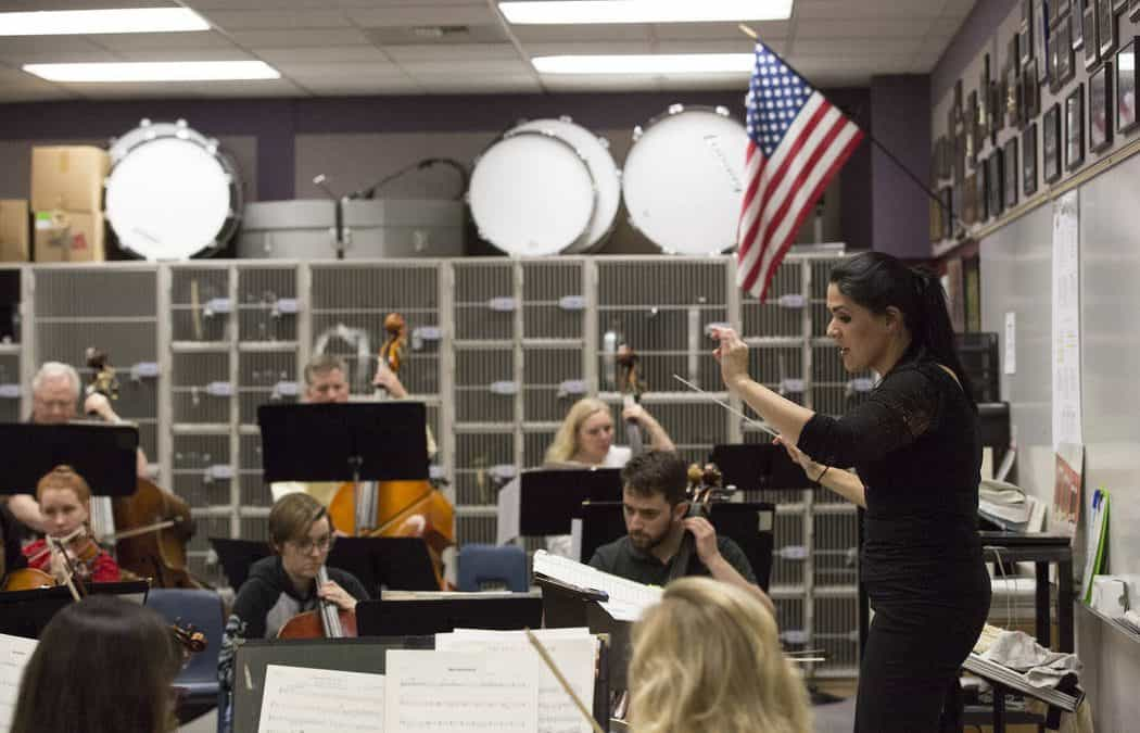 Henderson Symphony Orchestra's first female music director relishing role