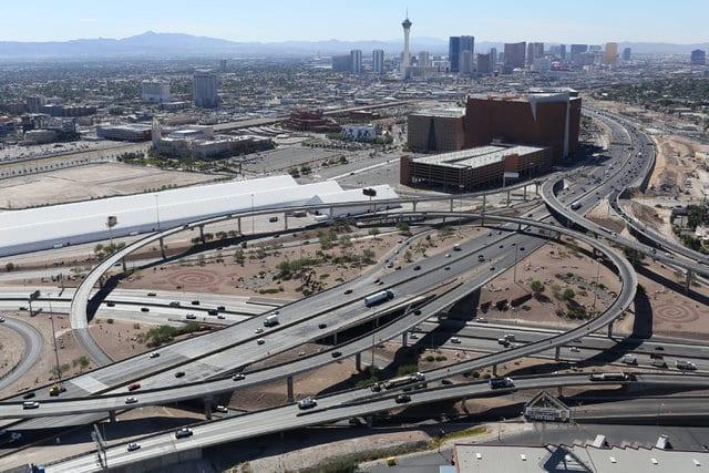 US 95 'Big Squeeze' near downtown Las Vegas starts Monday