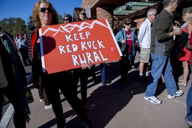 Save Red Rock claims Clark County Commission violated open meeting laws
