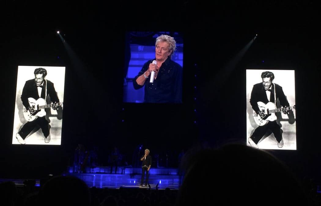 Rod Stewart's tribute to Chuck Berry rocks the Colosseum