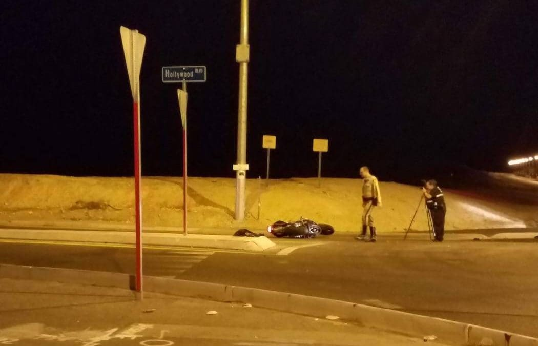Las Vegas police arrest 4 after robberies and car chase