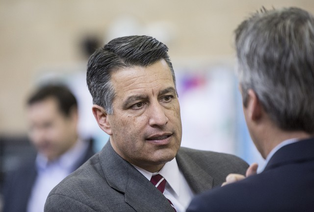 Sandoval's first veto of 2017 session rejects voter registration initiative