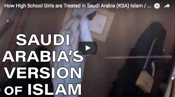 Video Shows Saudi Man Literally Herding Veiled Muslim Women With a Stick