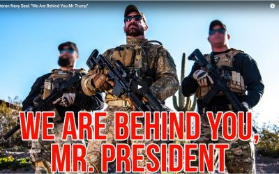 Veteran Navy Seal: 'We Are Behind You Mr Trump'