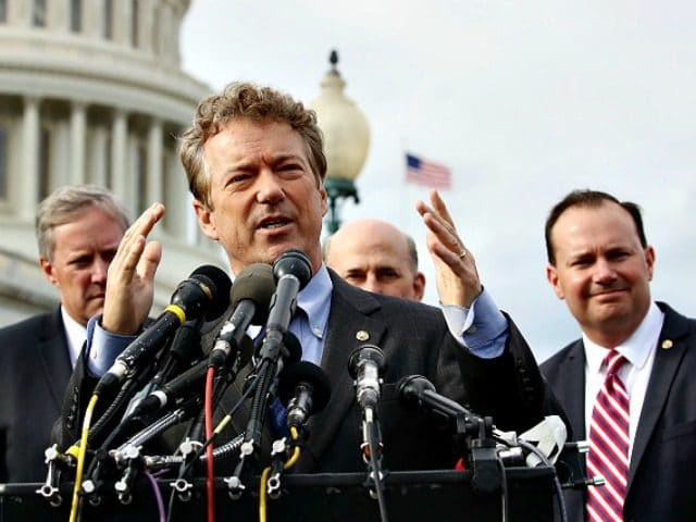 Rand Paul: 'Easily 35 No Votes' Against Paul Ryan's Obamacare 2.0, 'I Would Predict They Pull Bill, Start Over'
