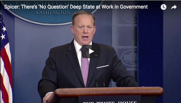 Spicer: There's 'No Question' Deep State at Work in Government