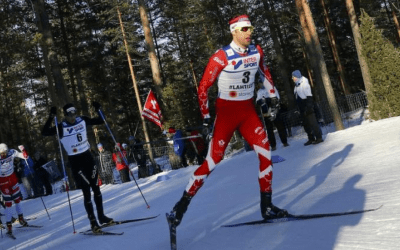 Canada's Harvey passes Sundby at the final bend to win world title