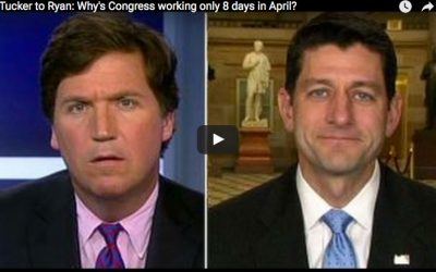 Paul Ryan defends 8 work days in April — blames Senate for 'do-nothing' Congress