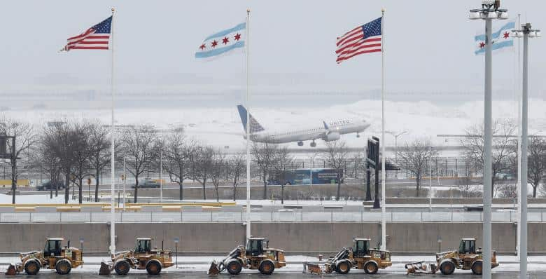 Flights canceled, schools to close as blizzard aims at northeast U.S.