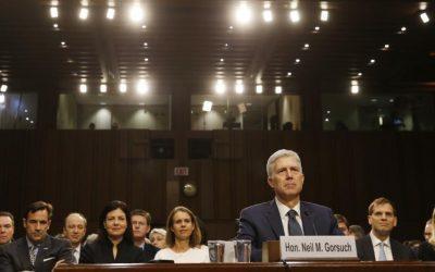 Democrats grill U.S. high court nominee over Trump concerns